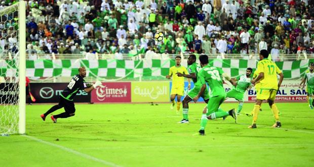 في نصف نهائي كأس جلالته لكرة القدم.. صحار يضرب بقوة ويتغلب على السيب 4-1