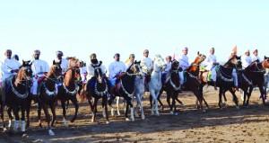 استعراض مهارات الخيل بمهرجان رياضات الخيل التقليدية بالقابل