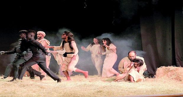 مسرحية الشقف التونسية تفوز بالجائزة الكبرى في مهرجان أوال