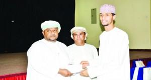تكريم الفائزين بمسابقة الأندية للإبداع الشبابي بنادي صور