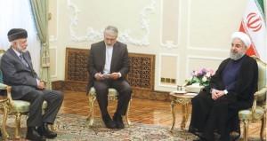 الرئيس الإيراني يستقبل الوزير المسؤول عن الشؤون الخارجية