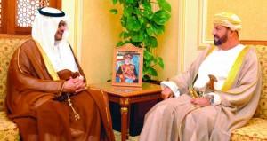 بدر بن سعود يتسلم رسالة خطية من محمد بن سلمان
