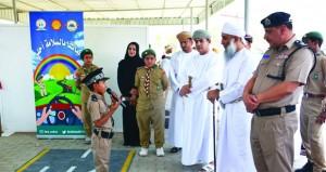 معرض للسلامة المرورية بتعليمية شمال الشرقية