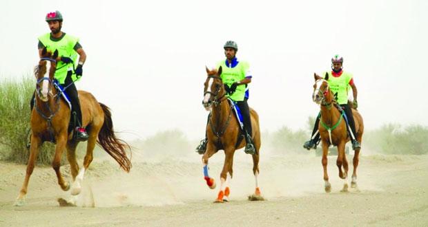 السلطنة تنجح في تنظيم أول سباق دولي للقدرة والتحمل فئة الثلاث نجوم
