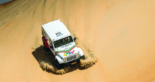 عبدالله الزبير يشارك في رالي قطر الصحراوي نهاية الأسبوع