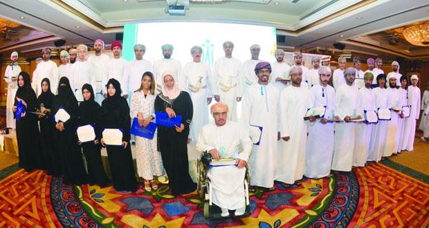 وزارة الشؤون الرياضية تكرم الفائزين في النسخة الخامسة لمسابقة الأندية للإبداع الشبابي
