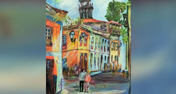 39 لوحة فنية في معرض الرسم لفريق إزكي للفنون البصرية