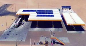 «شـل العمانية» تفتتح أول محطة خدمة تعمل بالطاقة الشمسـية