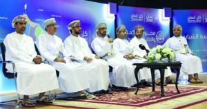 """استعراض أهداف الرؤية المستقبلية """"عمان 2040″ في الظاهرة"""