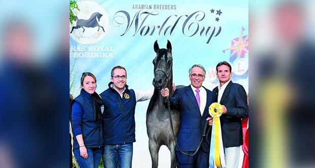 برنسيس مروان للخيالة السلطانية تفوز بالميدالية الفضية لكأس العالم بأميركا