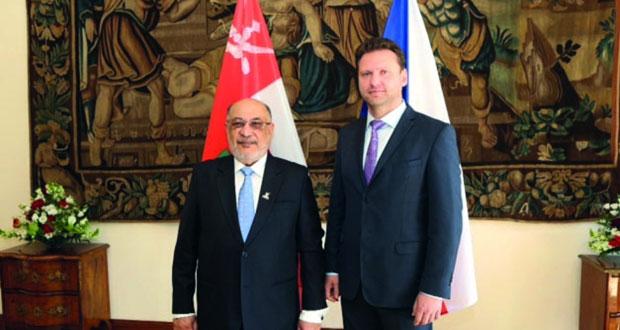 رئيس مجلس الدولة يبحث مع رئيس الوزراء التشيكي توسيع مجالات التعاون المشترك