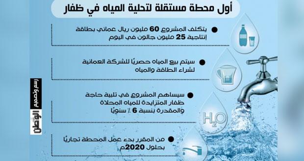 توقيع اتفاقيات لإنشاء (محطة صلالة المستقلة لتحلية المياه)