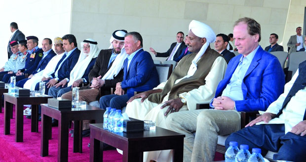 الاتحاد الدولي لالتقاط الأوتاد يناقش مع الأردن أوجه التعاون للعبتي التقاط الأوتاد والرماية بالقوس