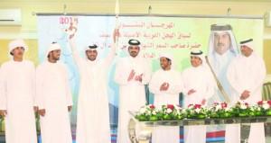 تواصل الحماس والإثارة في السباق السنوي الختامي على سيف أمير قطر بميدان الشحانية