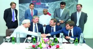 توقيع اتفاقية توسيع الجزء الجنوبي من ميناء صحار