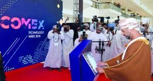 افتتاح فعاليات معرض الاتصالات وتقنية المعلومات «كومكس 2018»