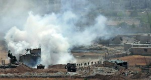 مستعيدا عدة مزارع .. الجيش السوري يستأنف قصف مواقع الإرهاب بالحجر الأسود