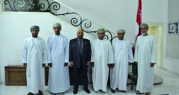 لقاءات مشتركة يجريها رئيس الاتحاد الدولي لالتقاط الأوتاد بالأردن