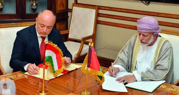 بحث التعاون الثنائي بين السلطنة والمجر في عدد من المجالات