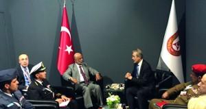 الأمين العام بوزارة الدفاع يشارك في افتتاح معرض أوراسيا بجمهورية تركيا