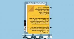 (الوثائق والمحفوظات) يناقش أبرز التحديات التي تواجه الأرشفة