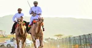 اليوم انطلاق مهرجان الصافن الحادي عشر لعرضة الخيل والهجن بعبري بمحافظة الظاهرة
