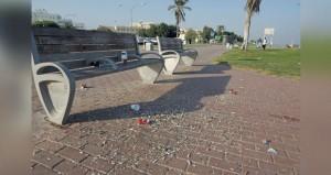 ظاهرة العبث بالمرافق والممتلكات العامة والحدائق من اهم التحديات التي تواجهها بلدية مسقط