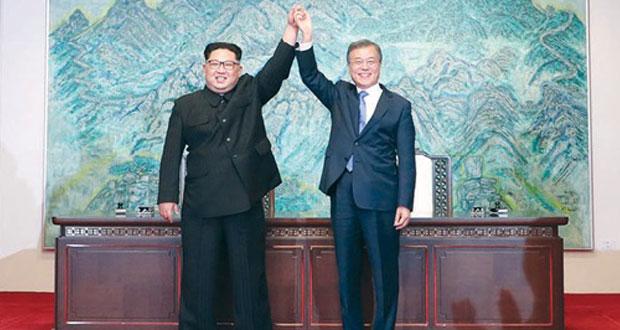 الكوريتان توافقان على نزع السلاح .. وبانتظار القمة مع أميركا