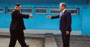 قمة تاريخية تؤشر لعهد جديد بين الكوريتين