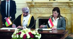 جلسة مباحثات رسمية بين السلطنة ومصر