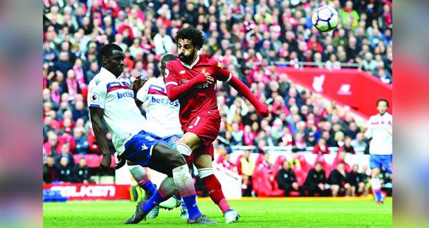 ليفربول يسقط في التعادل السلبي مع ستوك قبل التوجه إلى روما