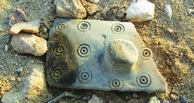 الكشف عن نتائج أعمال التنقيبات الأثرية فـي موقع رأس الجنز 3