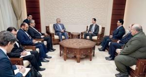 سوريا: الأسد يؤكد على تمسك الشعب بسيادته وحقه في رسم مستقبله