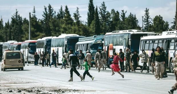 سوريا: الجيش يستهدف تحصينات وتجمعات الإرهابين في (الحجر الأسود)