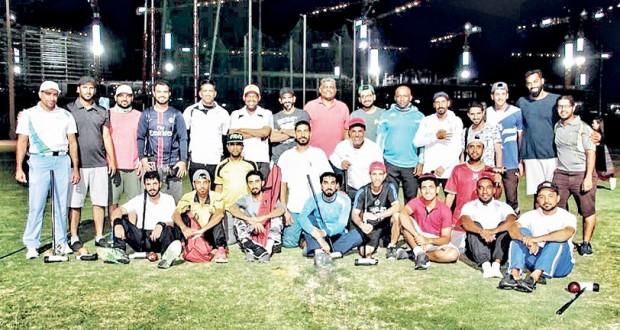 اللجنة العمانية لرياضات السبكتاكراو والكبادي والكرة الخشبية تنظم الجولة الثانية لدوري الكرة الخشبية