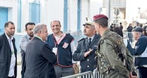 عناصر الشرطة والجيش يقترعون فـي تونس للمرة الأولى