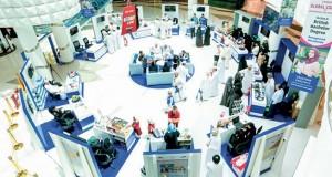استمرار فعاليات معرض السلامة والصحة المهنية في الافنيوز مول