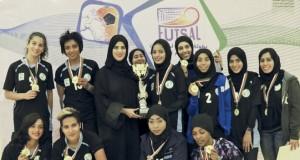 أهلي سداب يتوج بلقب البطولة وجامعة السلطان قابوس وصيفا والاتفاق يخطف المركز الثالث