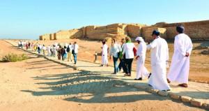أكثر من 13 ألف زائر لمواقع أرض اللبان الشهر الماضي