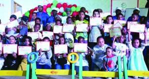 ختام ناجح لفعالية حقيبة ألعاب القوى للأطفال بمهرجان طاقة