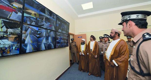شرطة عمان السلطانية تحتفل بافتتاح منفذ صعراء في البريمي