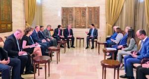 الأسد يدعو الدول الغربية للتحلي بالواقعية