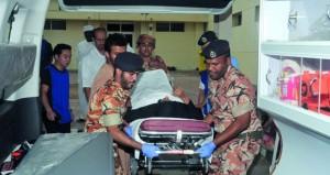سلاح الجو السلطاني العماني والخدمات الطبية للقوات المسلحة يسندان القطاعات الطبية بمحافظة ظفار