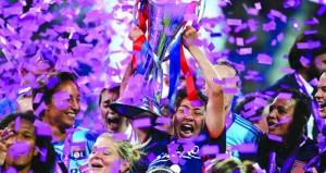 ليون يفوز بلقب دوري أبطال أوروبا للسيدات للمرة الخامسة