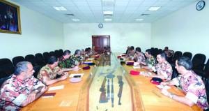 اللجنة العسكرية الفرعية لإدارة الحالات الطارئة بالوسطى مستعدة