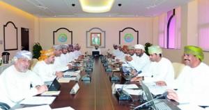مجلس إدارة الغرفة يعتمد تسمية رؤساء اللجان المؤقتة
