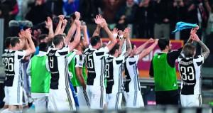 """يوفنتوس """"سيد"""" إيطاليا دون منازع بإحرازه لقب الدوري للمرة السابعة تواليا"""