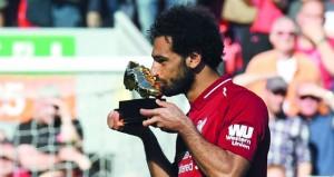 صلاح يقود ليفربول للتأهل إلى دوري الأبطال في الدوري الإنجليزي