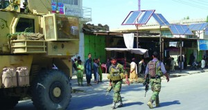 أفغانستان: استمرار المعارك الضارية للسيطرة على منطقة بالجنوب