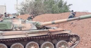 عمليات تكتيكية للجيش السوري ضد الإرهابيين بالحجر الأسود